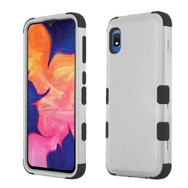 for Samsung Galaxy A10e Impact Tuff Hybrid Protector Case Skin Phone Cover, Black