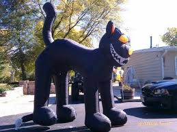 Inflatable Halloween Cat Archway by Amazon Com 10 Ft Gemmy Halloween Airblown Inflatable Black