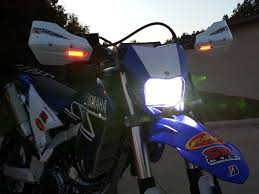 wr250r wr250x headlight light and led turn signal guide