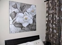 tableau deco pour chambre adulte tableau feuilles argent tableau deco chambre wiblia com
