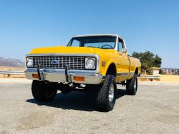 100 1972 Chevy Truck 4x4 K10 Short Bed Southern California 4 Skyjacker