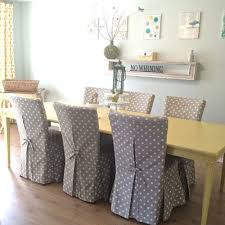 Excellent Dining Room Chair Slip Covers Best 25 Slipcovers Ideas How To Make Designs