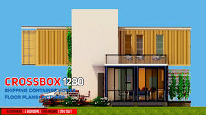 100 Shipping Container Apartment Plans CROSSBOX 1280 ID S24321280 3 Beds 3 Baths 1280SFt