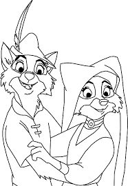 Free Disney Robin Hood Coloring Pages At 1000 Images About