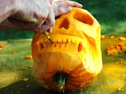 Electric Pumpkin Carving Tools by Halloween Pumpkin Carving Skull Jack O U0027 Lantern How Tos Diy
