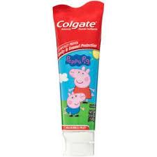 colgate toothpaste peppa pig