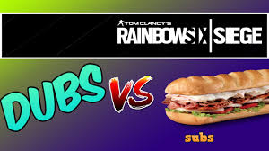 siege burger king dubs against subs hazbro and priest v subs ep 1 rainbow six