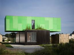 100 Container Box Houses Homes In Eco Friendly Crossbox House Cg Architectes