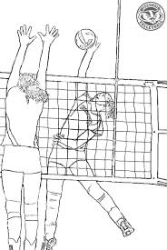 U Volley Coloring Pages To Print