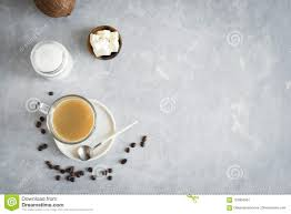 Download Bulletproof Coffee Stock Image Of Diet Background
