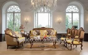 canapé style ée 50 meubles anciens salon ensembles de sofa de luxe de style espagnol