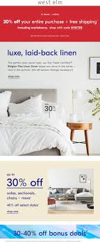 West Elm Coupons 🛒 Shopping Deals & Promo Codes November ... West Elm Customers Complain About Shoddy Sofas And Shipping Applying Discounts Promotions On Ecommerce Websites William Sonoma 10 Off Coupon Coshocton In Store Only 40 Off Sonos At West Elm Outlet Ymmv Sf Giants Coupon Race Pro Tax Coupons Shopping Deals Promo Codes December 2 Best Online Dec 2019 Honey Home Theater Gear Code Sears Coupons Shoes Presidents Day Theme With Ited Mt 20 Or Online Via Promo Free Cool Things To Buy