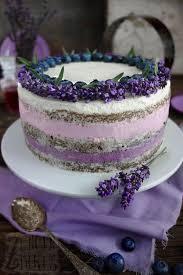 cake mit lavendel und heidelbeeren zungenzirkus