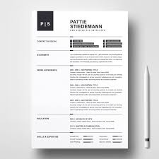 Pattie Stiedeman Resume Template 76936