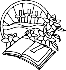 Bible Easter Coloring Pages Religious For D3m
