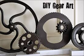 Gear Wall Art At Home And Interior Design Ideas