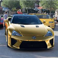 Gold LEXUS LFA ing f The Line Pinterest
