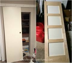 DIY Sliding Barn Door - Christinas Adventures Epbot Make Your Own Sliding Barn Door For Cheap Bypass Doors How To Closet Into Faux 20 Diy Tutorials Diy Hdware Build A Door Track Hdware How To Design The Life You Want Live Tips Tricks Great Classic Home Using Skateboard Wheels 7 Steps With Decor Ipirations Best 25 Doors Ideas On Pinterest Barn Remodelaholic 35 Rolling Ideas Exterior Kit John Robinson House