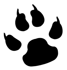 Cougar paw print clipart Clipart Collection
