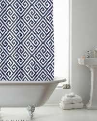 country club duschvorhang 180x180 deko indigo modern kunst badezimmer moderne