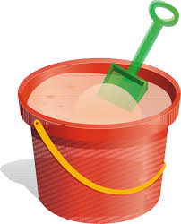 Bucket And Spade Sand Clip Art
