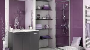 salle de bain mauve modèle décoration salle de bain mauve