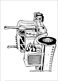 Transformers Coloring Page 6