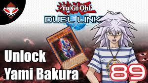 yugioh bakura character deck yu gi oh duel links 89 unlock karakter deck yami bakura