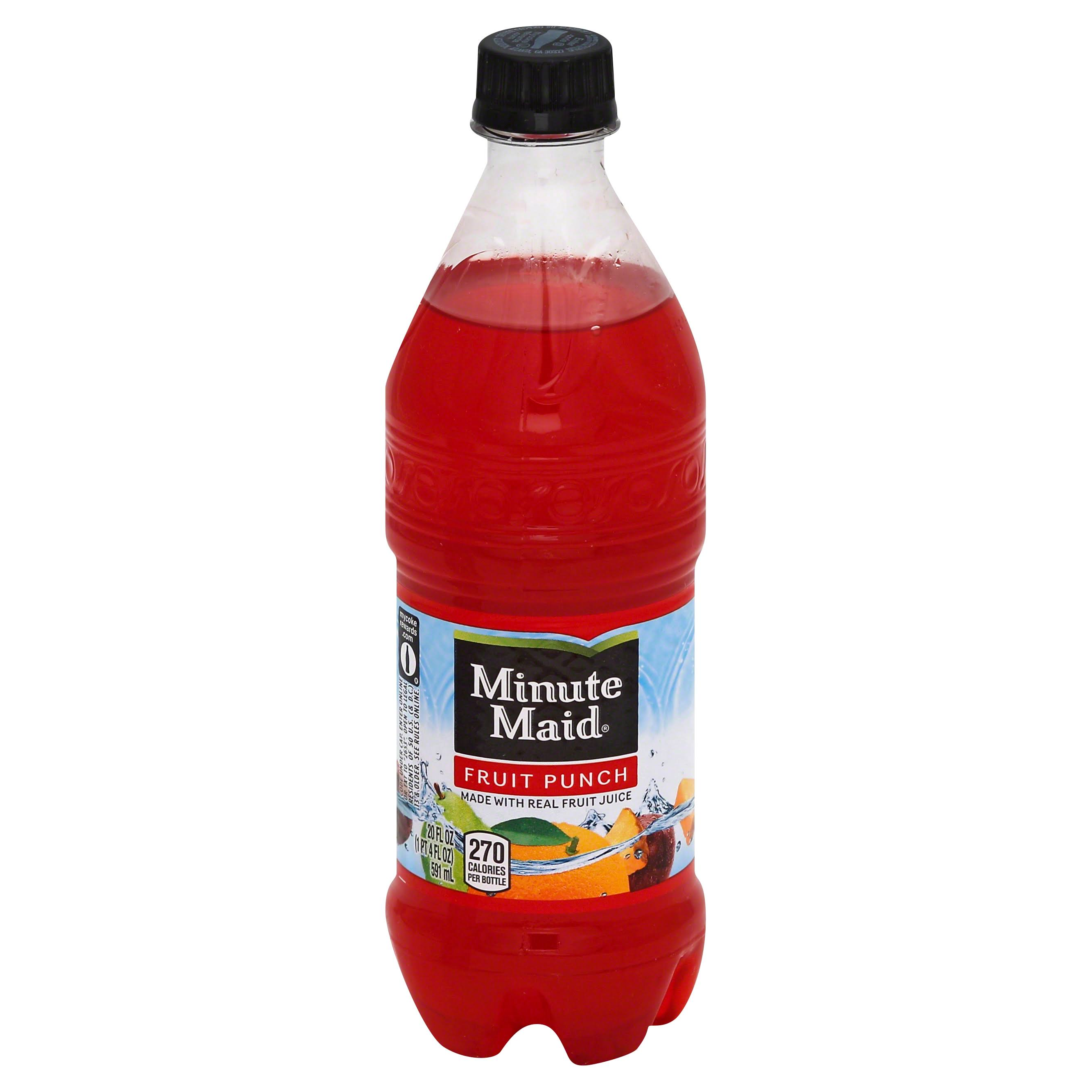 Minute Maid Fruit Punch - 20oz
