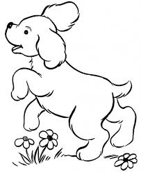 Dog Color Pages Printable Breed Coloring Dogs In Kipper The