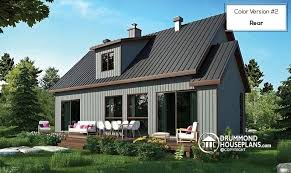Farmhouse Houseplans Colors House Plan W3988 Detail From Drummondhouseplans Com