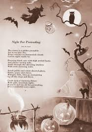 Poems About Halloween For Adults by Halloween Ideals 1958 Excerpts Halloween Pinterest Vintage