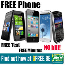 FREE Smartphone & FREE Minutes Text & Data NO Contract & NO