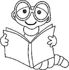 Images Read Book Animal 3rd Grade Coloring Page