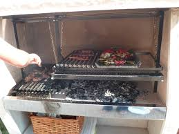 barbecue a la plancha pa taille 3 doubles grilles doubles manivelles barbecues
