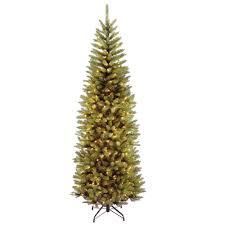 Menards Artificial Slim Christmas Tree by Continuous On Technology Artificial Christmas Trees Christmas