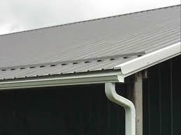 Barn Roof Gutters - Aurora Roofing Contractors Recommended Gutters For Metal Roofs Scott Fennelly From Weathertite Systems Are Wooden Rain Taboo Fewoodworking Douglas Mi Project Completed With Michael Schaap Owd Advice On And Downspouts Diy Easyon Gutterguard Installing Corrugated Metal Roof Youtube Guttervision Pictures Videos Of Seamless Gutters A1 Gutter Pro Beautiful Cost A New Roof Awful Rhd Architects Hidden Gutter Detail Serock Jacek Design Ideas Interior Hydraulic Cross Cleaner Barn Paddles