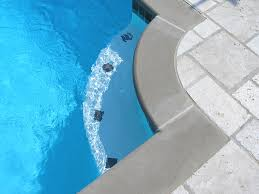 swimming pool accents custom pool tile design coping decking
