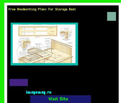 free woodworking plans for storage beds 072139 the best image