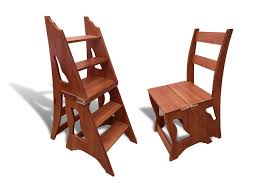 85 Step Stool Chair Wood, UHome Step Stool Chair Wooden Step ...
