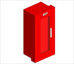 Semi Recessed Fire Extinguisher Cabinet Revit by Recessed Fire Extinguisher Cabinet