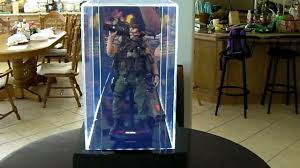 ACRYLIC DISPLAY CASE With LEDs For HOT TOYS ENTERBAY SIDESHOW MEDICOM Other 12 Figures