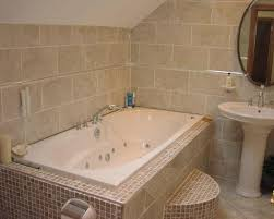 Beige Bathroom Tile Ideas by White And Beige Bathrooms Bathroom With Mosaic Tile Ideas