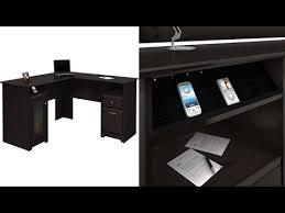 Bush Cabot L Shaped Desk Assembly Instructions by Bush Furniture Harvest Espresso Oakcabot Collection 60 Inch L Desk