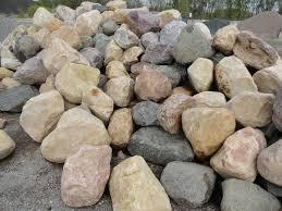 Dresser Trap Rock Boulders by Landscape Products Milestone Materials Milestone Materials