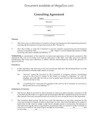 Picture Of Consulting Agreement For Software Development