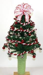 Alabama Crimson Tide Fan Christmas Tree For 3 Inch Cemetery Vase Flower By Crazyboutdeco On Etsy