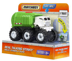 Amazon.com: Matchbox Real Talking Stinky Truck - Mini Stinky: Toys ... Dump Truck Vector Free Or Matchbox Transformer As Well Trucks For 742garbage Toy Toys Buy Online From Fishpdconz Compare The Manufacturers Episode 21 Garbage Recycle Motormax Mattel Backs Line Stinky Toynews 66 2011 Jimmy Tyler Flickr Lesney No 26 Gmc Tipper Red Wbox Tique Trader Amazoncom Vehicle Games Only 3999 He Eats Cars