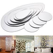 details zu 18 x ver große deko spiegel aufkleber spiegelfliesen wandspiegel wandtattoo