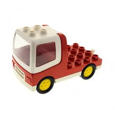 1 X Lego Duplo Brick Red Truck With 4 X 4 Flatbed Plate And White ... Lego Flatbed Tow Truck Moc Album On Imgur Lego 8109 30187 Alrnate Micro Huckleberry Brick Technic With Power Function Box Ideas Timber Transport City 60017 My Style From Conrad Electronic Uk Youtube Remote Control Set 10244 The Fairground Mixer Review Minifigology Amazing Similarities Between Sets Brickset Forum